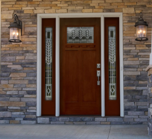 Entry door with Side Panes